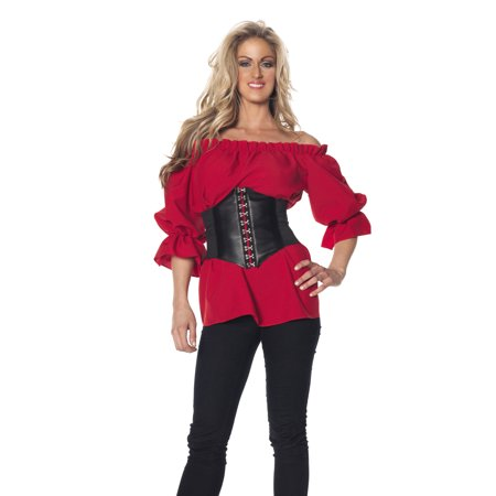 Renaissance 3/4 Sleeve - Red Sexy Adult Womens Halloween (Women's Cosplay Costumes For Sale)