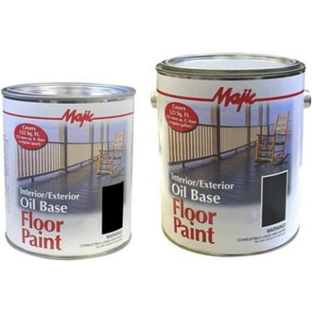 Yenkin-Majestic 8-0075-1 1 gal Oil base Floor Paint, Battleship Gray - image 1 of 1
