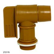 Wesco Industrial 272176 2 in. Polyethylene Drum Faucet