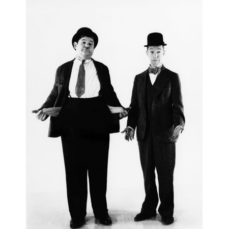 Laurel And Hardy Ca 1930S Photo Print](Laurel Hardy Halloween)