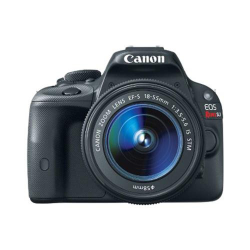 Canon EOS Rebel SL1 DSLR w/ 18-55mm EF-S IS STM Lens plus 32GB Accessory Kit