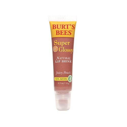 Burt's Bees Super Glossy Lip Gloss, Juicy Peach, 0.5 oz