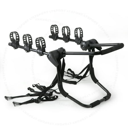 Fit Subaru Bike Rack Carrier Trunk Mount 3 Bicycle Holder Front For B9 Tribeca Baja Forester Impreza Justy Legacy Loyale
