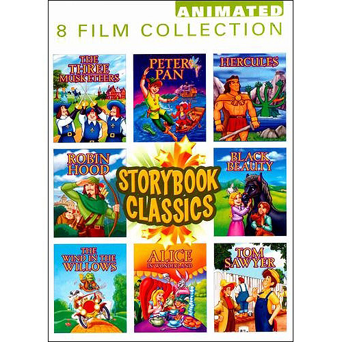 Storybook Classics: The Three Musketeers / Peter Pan / Hercules / Robin Hood / Black Beauty / The Wind In The Willows / Alice In Wonderland / Tom Sawyer