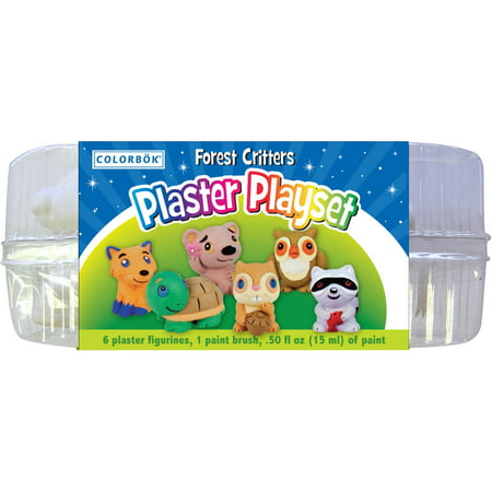 Plaster Playset-Forest Critters for $<!---->