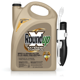Roundup Ready-To-Use Extended Control Weed & Grass Killer Plus Weed Preventer II with Comfort Wand, 1.33 gal.