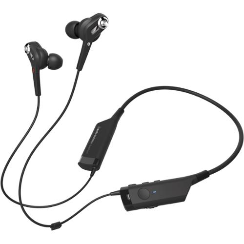 Audio-technica Quietpoint Active Noise-cancelling Wireless In-ear Headphones - Stereo - Mini-phone - Wired/wireless - Bluetooth - 32.8 Ft - 16 Ohm - 20 Hz - 24 Khz - Earbud, (ath-anc40bt)