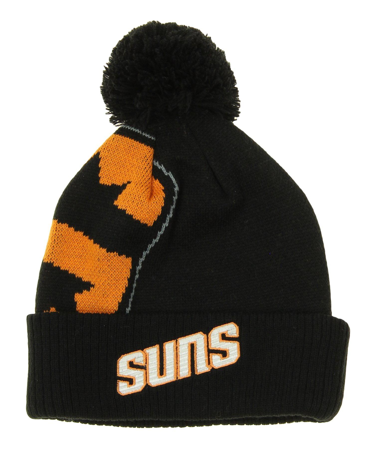 13b9dfa649588e ... coupon code for adidas nba youth phoenix suns cuffed knit hat with pom  black 5aa25 2f193