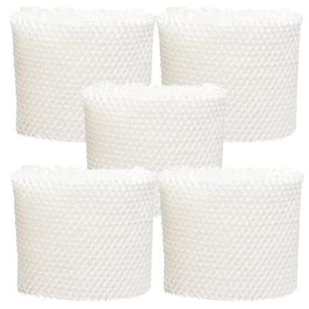 Wf2 Air Humidifier Wick Filter (5-Pack Replacement Vicks V3900 Humidifier Filter  - Compatible Vicks WF2 Air)