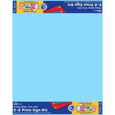"Royal Brites White Poster Board, 22"" x 28"", 10 Sheets ..."