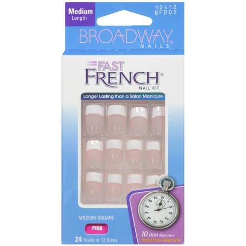 Broadway Fast French Nail Kit