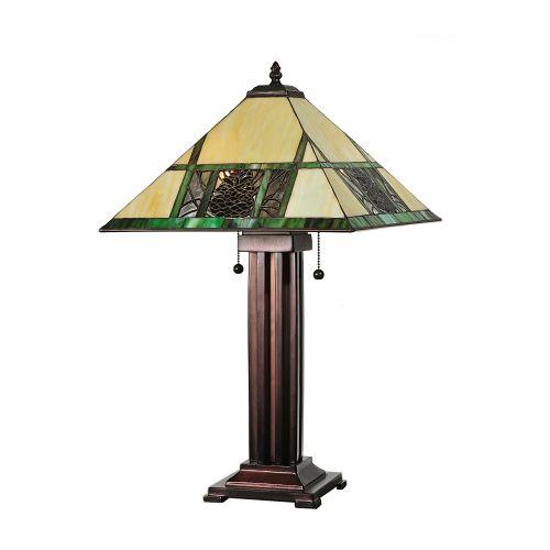 "Meyda Tiffany 67851 24"" H Pinecone Ridge Table Lamp by Meyda Tiffany"