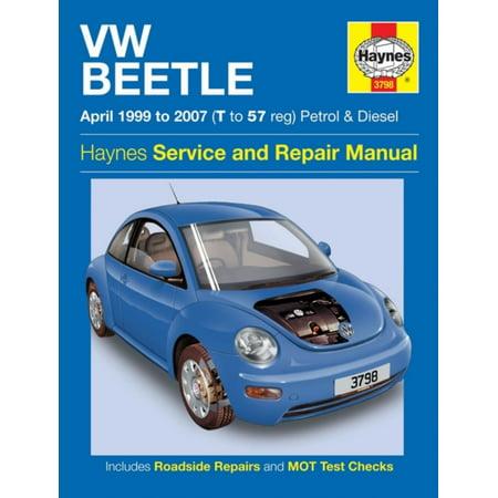 VW Beetle Petrol & Diesel (Apr 99 - 07) Haynes Repair Manual (Haynes Service and Repair Manuals) (Paperback) (Harvester Service Manual)