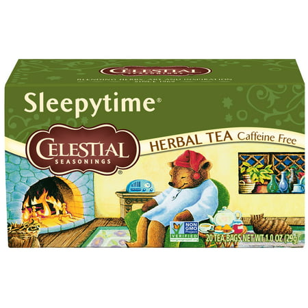 (3 Pack) Celestial Seasonings Herbal Tea, Sleepytime, 20 Count