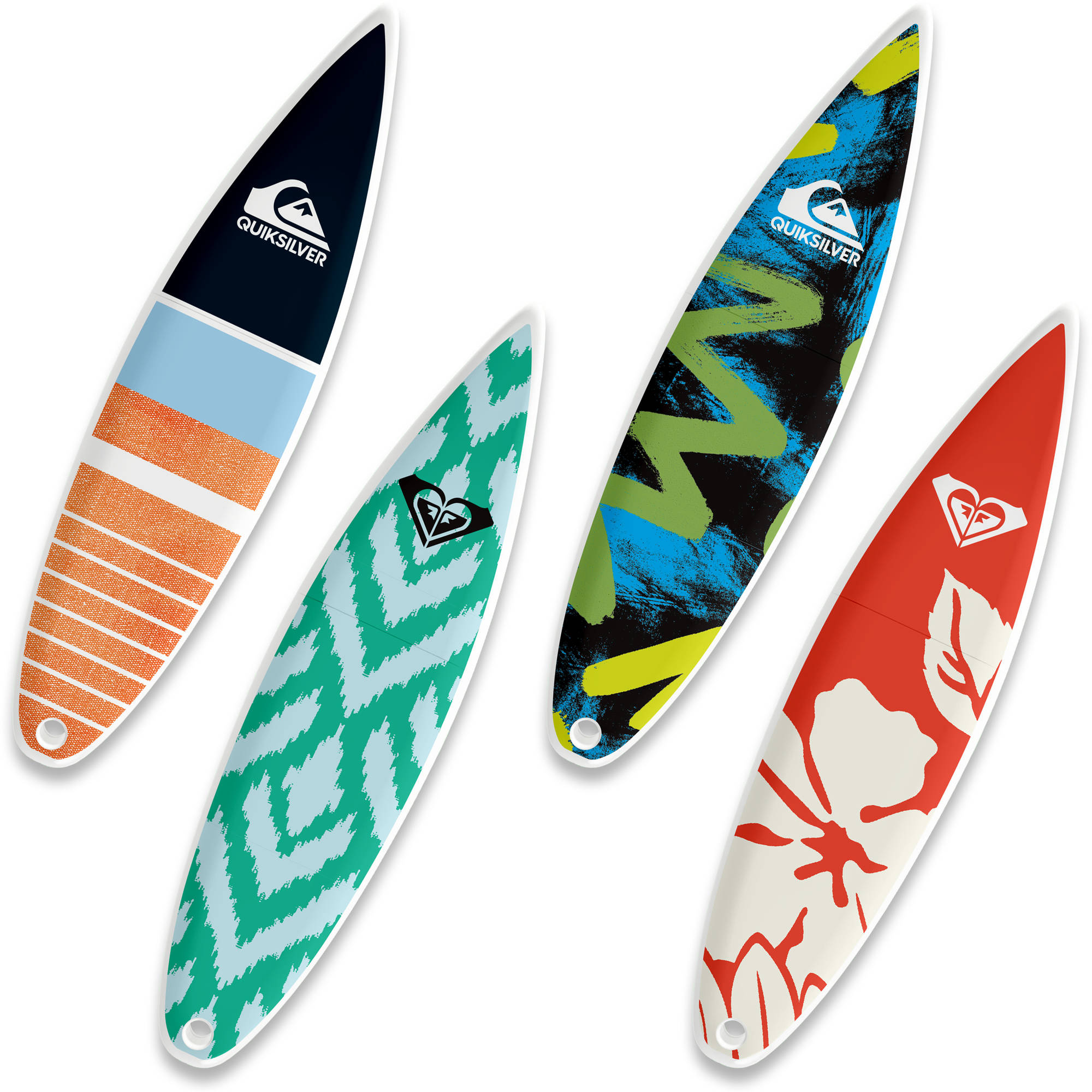 16GB EP ASD USB, Quiksilver SurfDrive and Roxy SurfDrive, 4-Pack