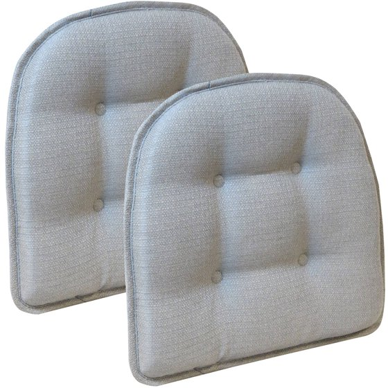 Gripper Non Slip 15 Quot X 16 Quot Omega Gray Tufted Chair