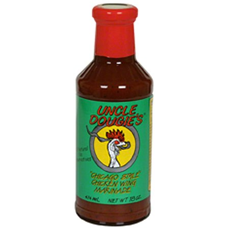 Uncle Dougie's Chicago Style Chicken Wing Marinade, 18 oz (Pack of
