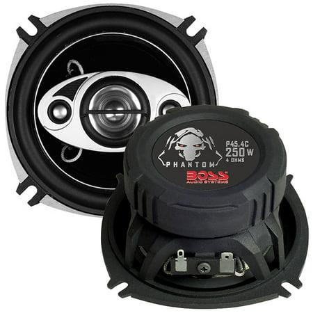 """Boss Audio Phantom 4"""" 4-Way 250W Full Range Speaker"""