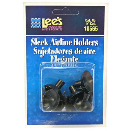 Lee's Sleek Airline Holders - Black 6 - Wooden 6 Pack Holder