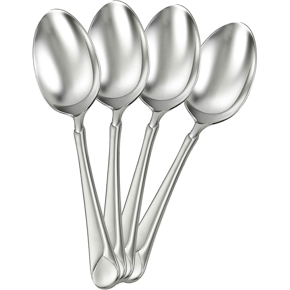 Zwilling JA Henckels Provence Silverware Set, Teaspoon, 4PK, Stainless Steel, 22748-244-4
