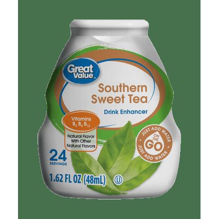 Great Value Southern Sweet Tea Drink Enhancer  1 62 Fl Oz