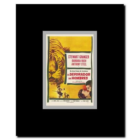 harry black and the tiger framed movie poster walmartcom