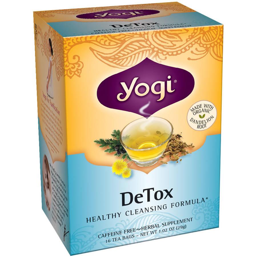 Yogi DeTox Tea Bags, 16 count
