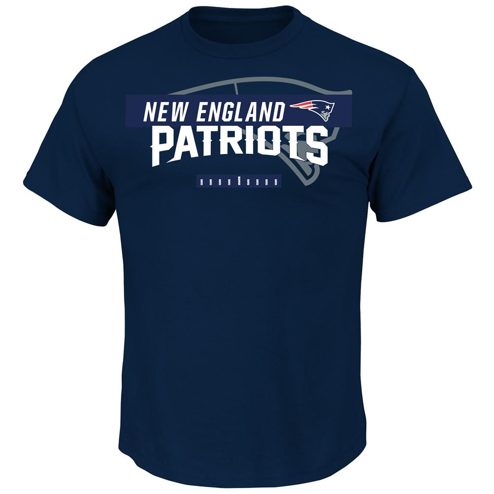 Majestic Men's Short Sleeve New England Patriots T-Shirt