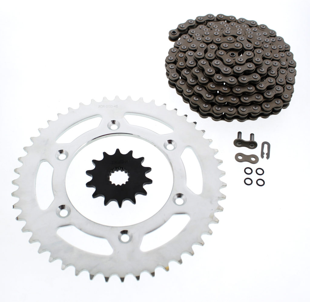 KTM 10-13 150 XC / 08-09 505 SX-F CZ DZO O-Ring Chain And Sprocket 14/48 120L