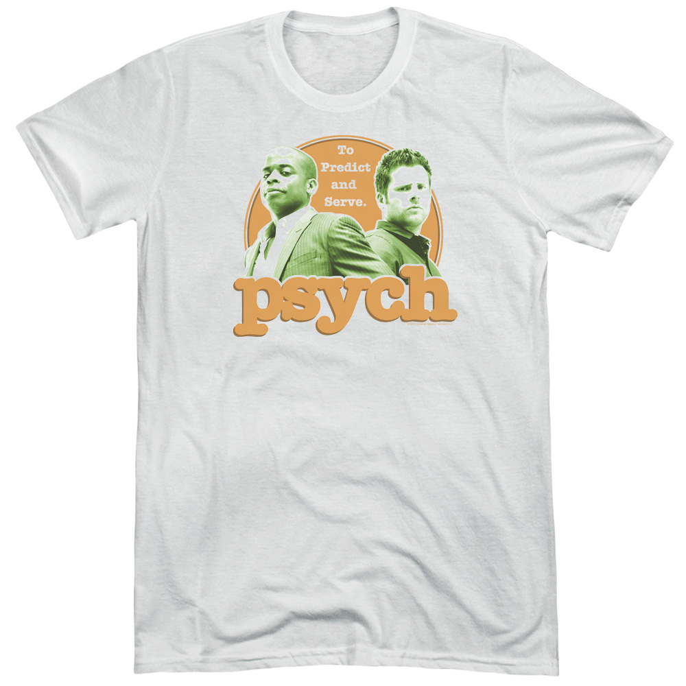 Psych Predictable Mens Tri-Blend Short Sleeve Shirt