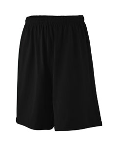 Augusta Drop Ship Youth Longer-Length Jersey Short
