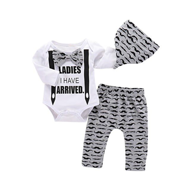 Little Big Bend National Park Cotton Romper Outfit Newborn Baby Girls Boys Long Sleeve Jumpsuit