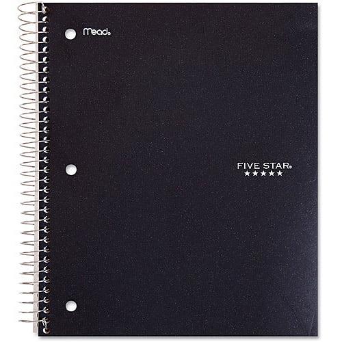 Five Star 1-Subject Notebook, Wide-Rule