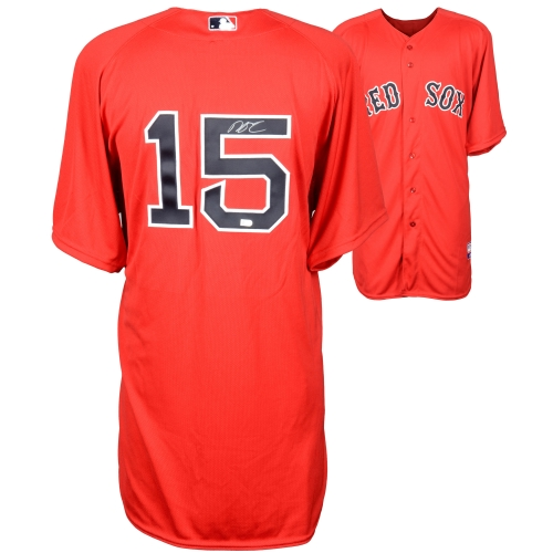 Dustin Pedroia Boston Red Sox Fanatics Authentic Autographed Red Authentic Jersey - No Size