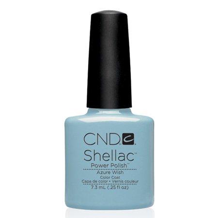 CND Shellac Azure Wish Gel Polish, 0.25 fl. oz.