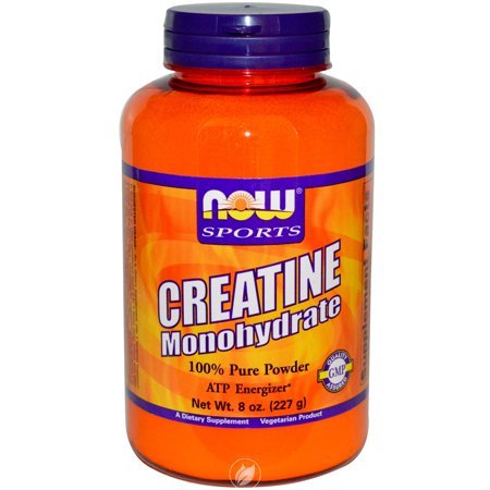 Foods Creatine Powder - Now Foods Creatine Powder, 8 Ounces, Pack of 2