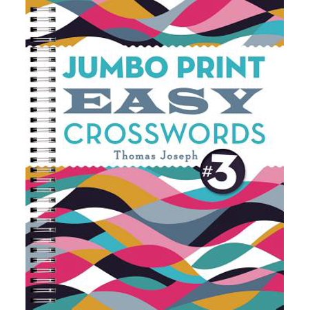 Jumbo Print Easy Crosswords #3](Crossword Puzzle Halloween Printable)