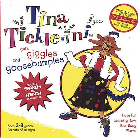 Tina Tickle Ini   Tina Tickle Ini Gets Giggles   Goosebumples  Cd