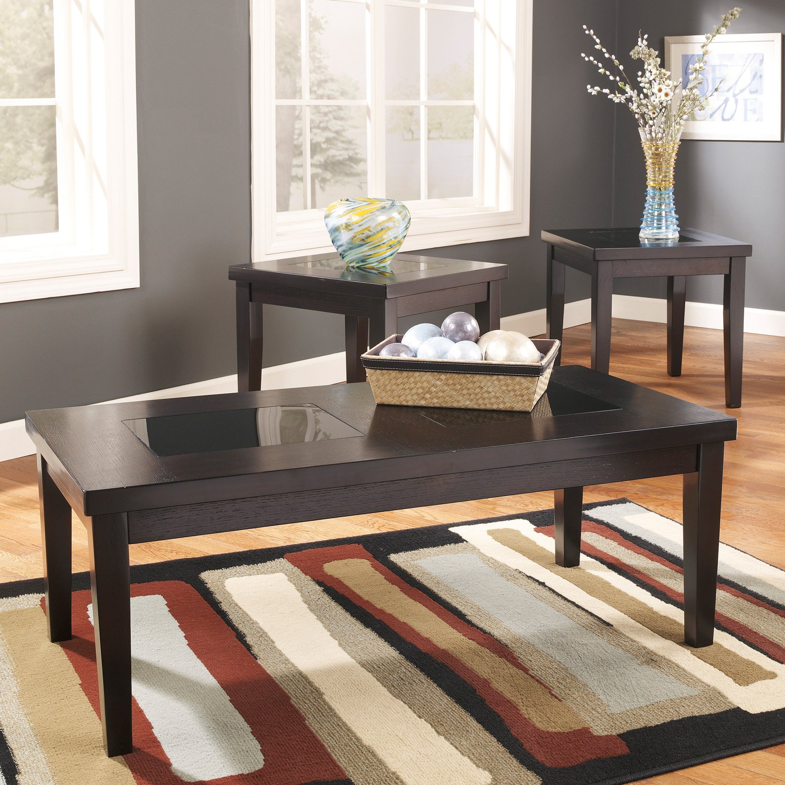 Signature Design By Ashley Denja Brown Occasional Table - Set of 3