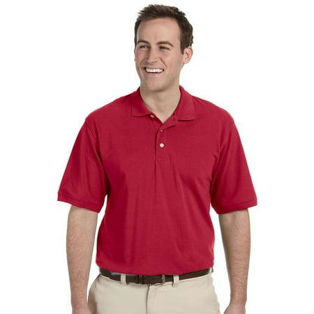 2265287c Harriton - Harriton Mens Easy Blend Pique Polo Shirt, Red, XXXX-Large,  Style, M265 - Walmart.com