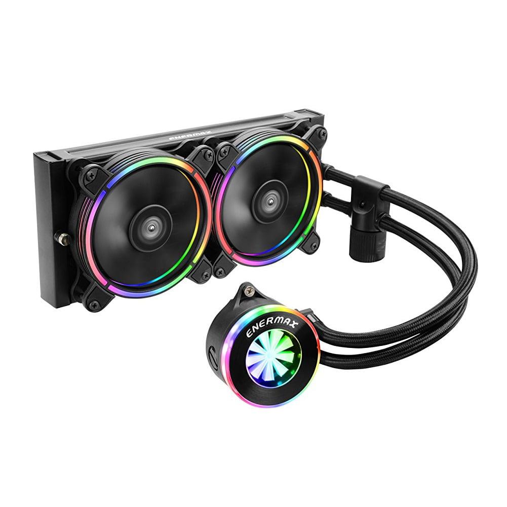 Enermax Liqfusion ELC-LF240-RGB 240mm RGB AIO Liquid CPU Cooler Intel/AMD