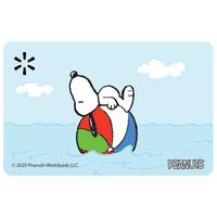 Snoopy Ocean Walmart Gift Card