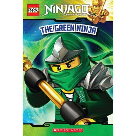 The Green Ninja (Lego Ninjago: Reader) (Paperback) - History Of Ninjas