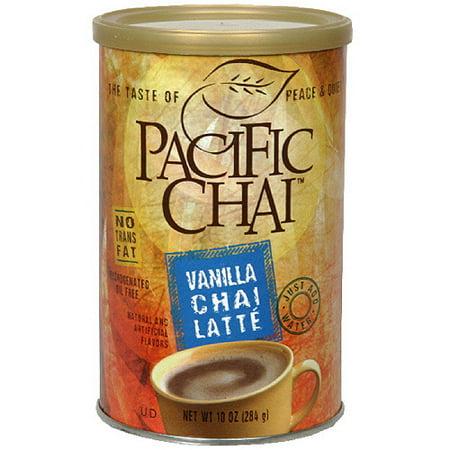 Pacific Chai Vanilla Chai Latte, 10 oz (Pack of