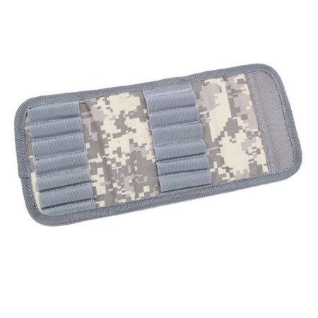 BALIGH Rifle Cartridge Padded Holder Carrier 12 Rifle 30-06 Shotgun Cartridge Wallet Hunting Accessory Clip