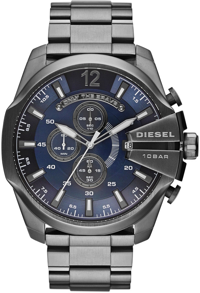 Diesel Mega Chief Big Oversized Chronograph Watch DZ4329