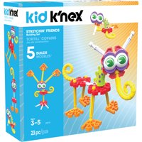 KID K'NEX - Stretchin' Friends Building Set - 23 Pieces - Ages 3 and Up Preschool Educational Toy