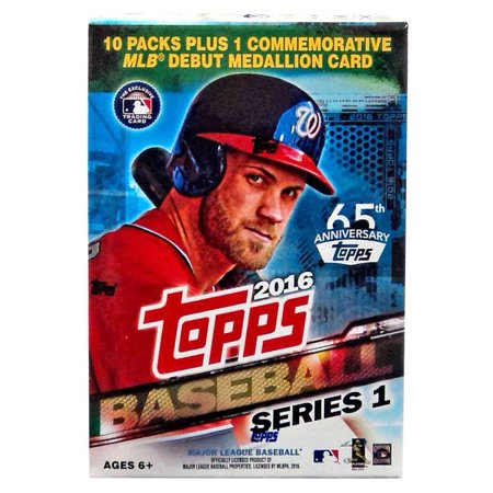 Mlb 2016 Topps Baseball Cards Series 1 Trading Card Blaster Box