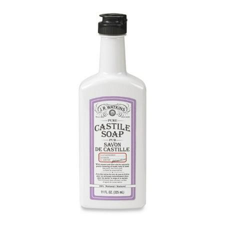 jr watkins lavender castile liquid soap 11 fl oz. Black Bedroom Furniture Sets. Home Design Ideas