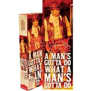Aquarius John Wayne Quote Jigsaw Puzzle